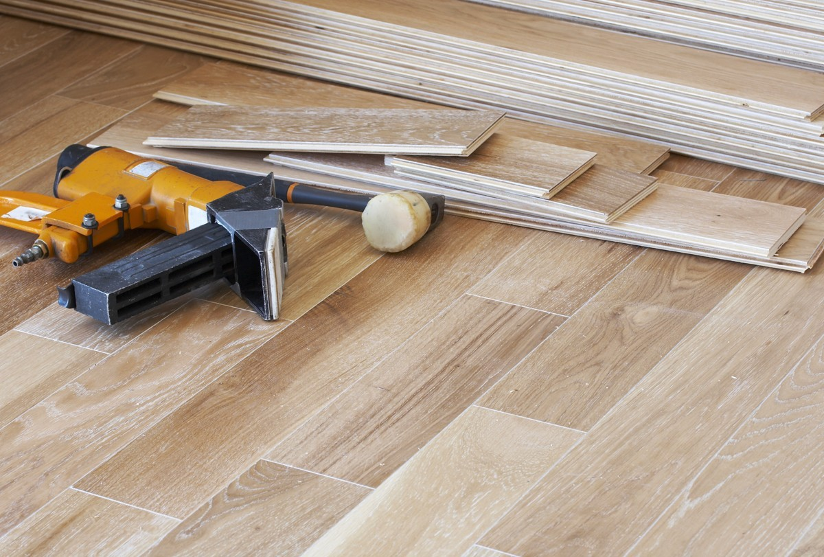 Hardwood installation | Bram Flooring