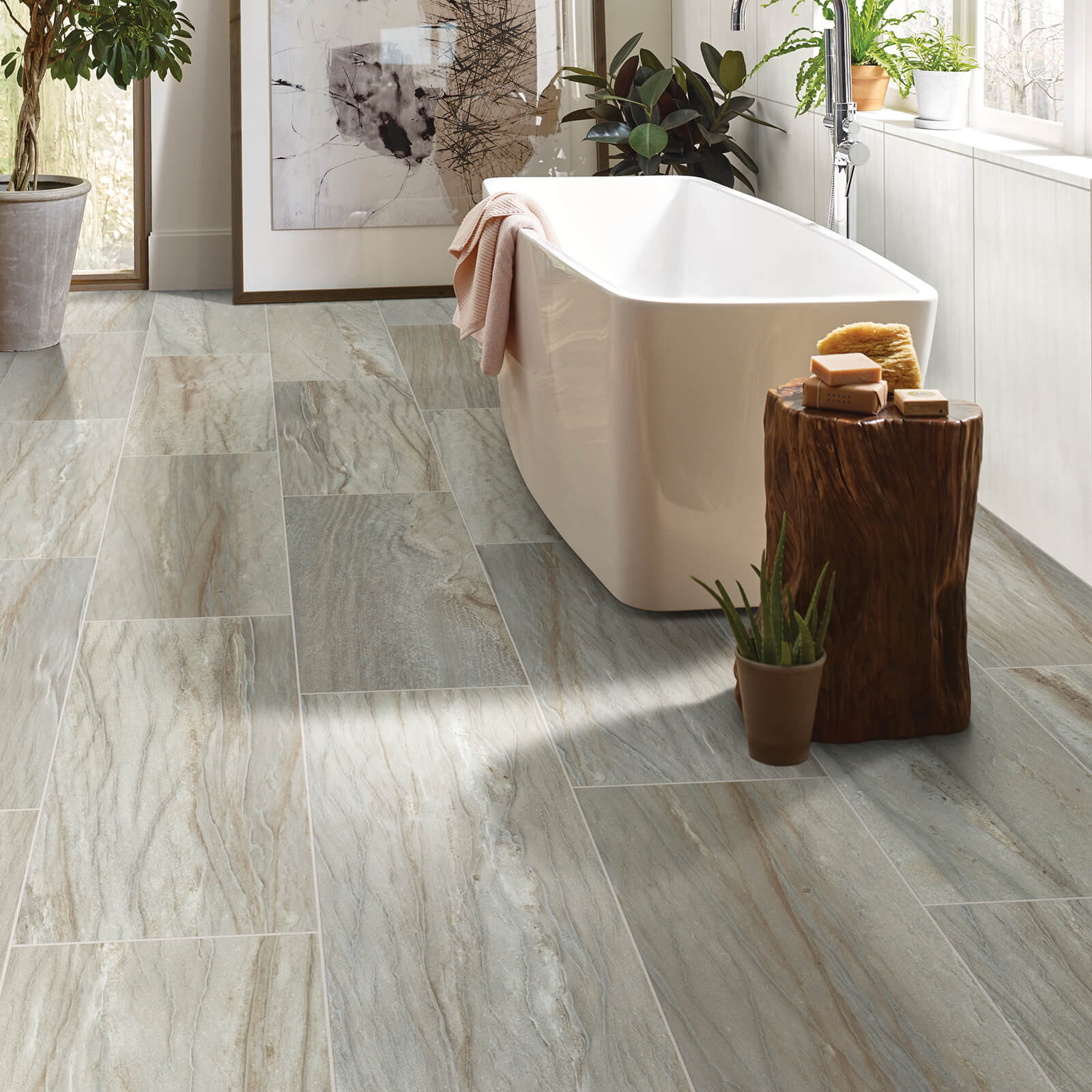 Sanctuary bathroom tile | Bram Flooring