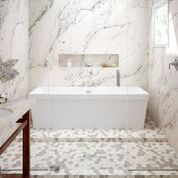 Bathtub in Shower room | Bram Flooring