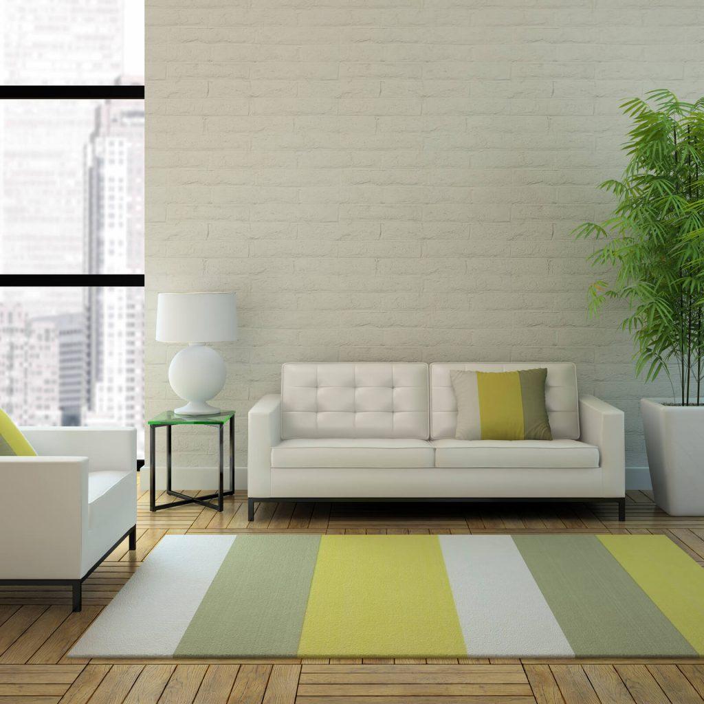 Stripped Area Rug | Bram Flooring