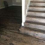 Stairway of Hardwood floor | Bram Flooring