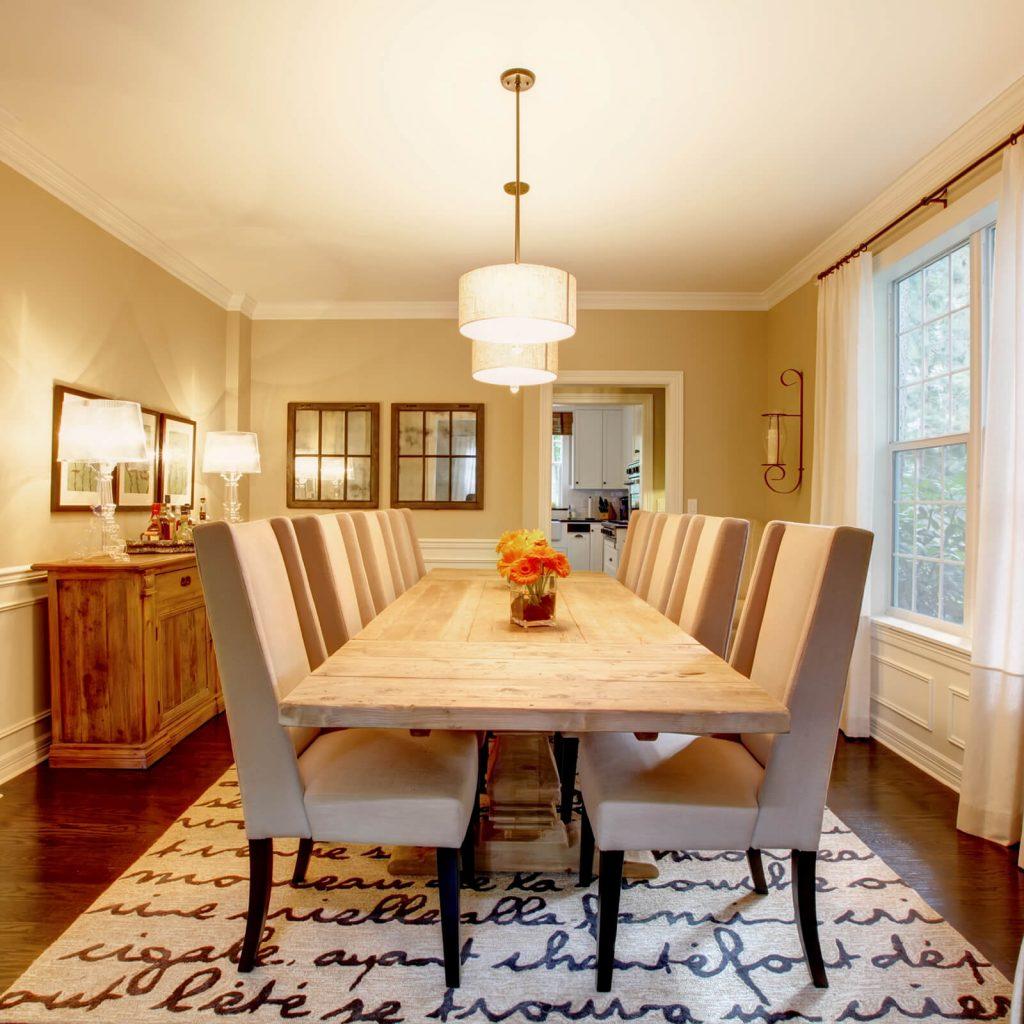 Rug for dining | Bram Flooring