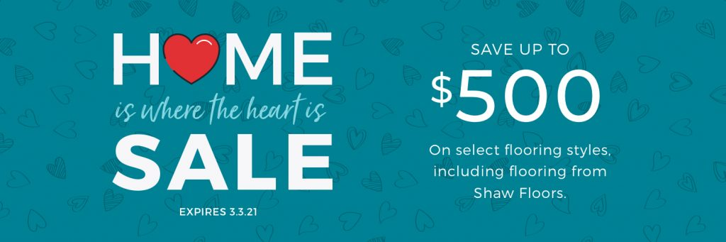 Home is Where the Heart is Sale